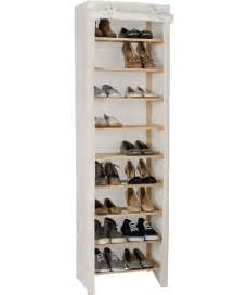 buy polycotton and pine 9 layer shoe rack at argos