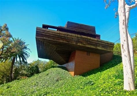 the george sturges house by frank lloyd wright, brentwood