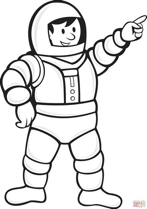 astronaut hat coloring page coloriage astronaute portant la combinaison spatiale
