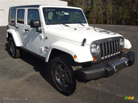 Oscar Mike Jeep Wrangler 2013 Bright White Jeep Wrangler Unlimited Oscar Mike
