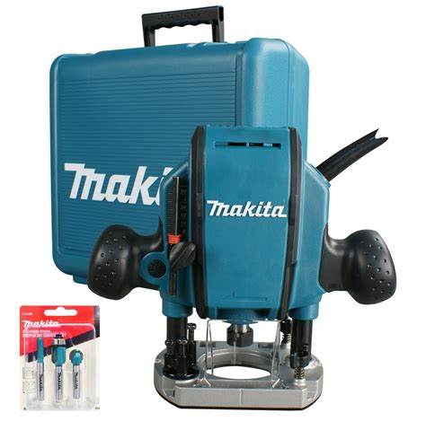 makita router template guide makita rp0900x 1 4 plunge router with guide