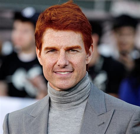 famous gingers this is what famous celebrities would look like as gingers