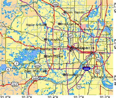 Hennepin County Mn Property Records Hennepin County Property Map My