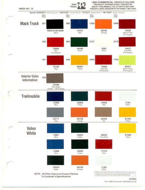 fleet truck color codes html autos post