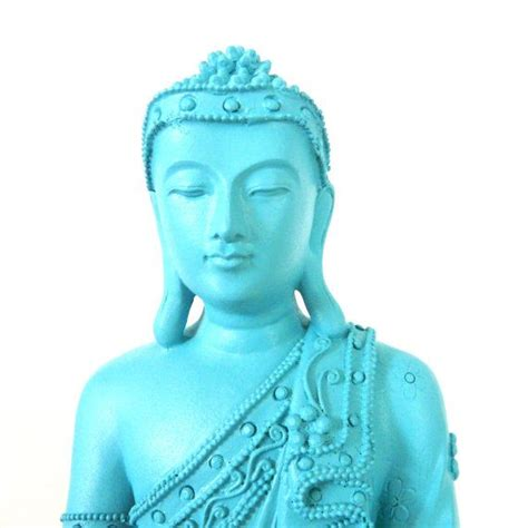 statues and sculptures home decorating buddha statue turquoise beachy home decor statues
