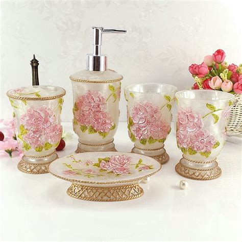 wedding bathroom kit aliexpress com buy resin bathroom set five pieces set of bathroom supplies kit