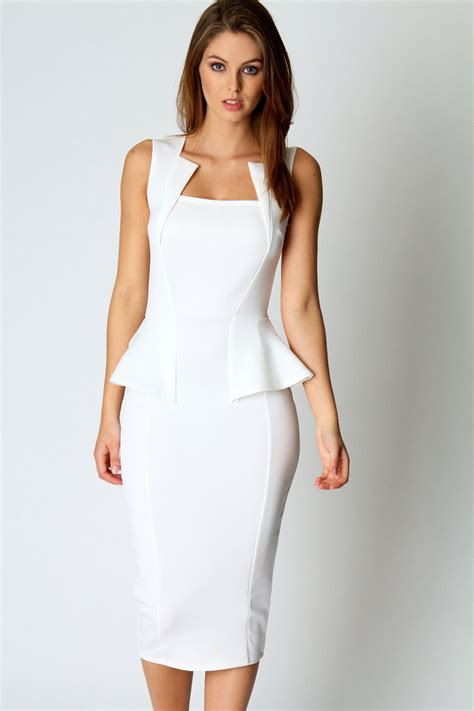 Girly Midi white midi dress picture collection dressed up