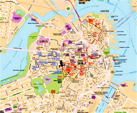 map of boston bars best boston map for visitors boston discovery guide