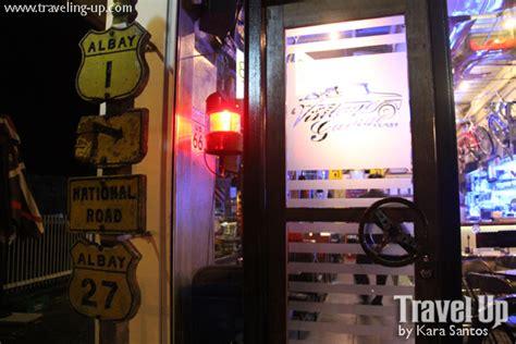 Garage Theme Song by Vintage Garage Bar Diner In Legazpi City Travel Up