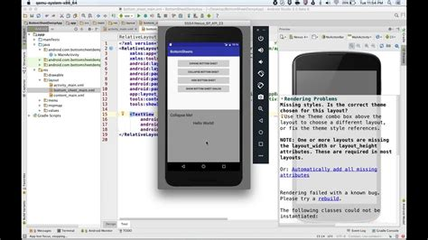 android studio youtube api tutorial deep diving into android bottomsheet api support library