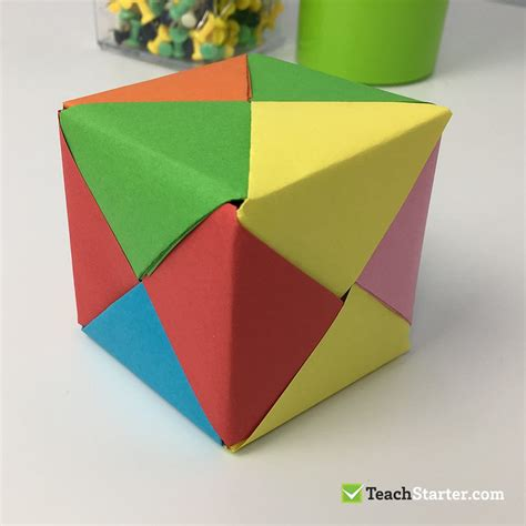 Cool Origami Boxes - easy and origami box for teach starter
