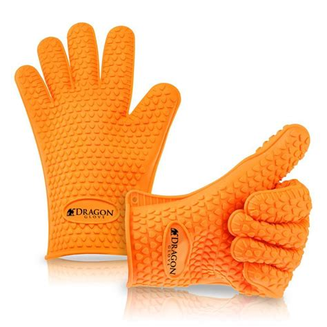 Heat Resistant Mittens silicone heat resistant gloves oven mitts pot holder