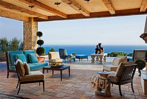 Tuscan Home Interiors villa de luxe de style m 233 diterran 233 en 224 malibu vivons maison