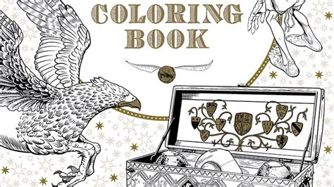 harry potter coloring book for adults pdf make your own magic with the official harry potter