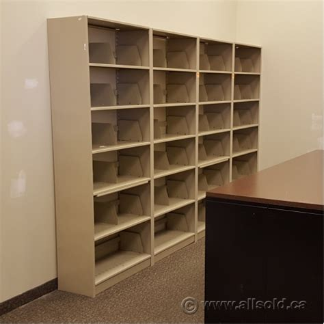 beige 36 x 82 tab filing shelf 6 shelves allsold ca