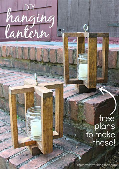 Free Wood Lantern Plans