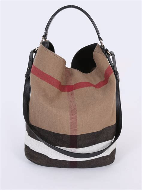 Burberry Trench Hobo Bag by Burberry Ashby Canvas Check Hobo Bag Luxury Bags