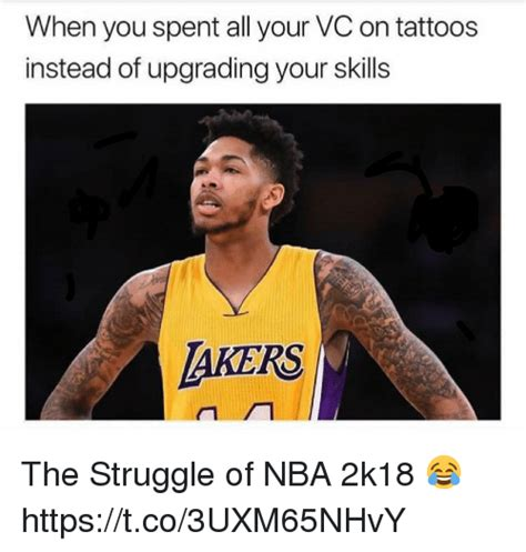 tattoo prices on 2k18 25 best memes about nba 2k18 nba 2k18 memes