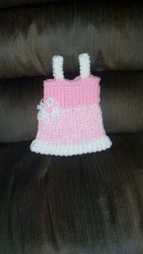 Baby Dress Loom Knit Accomplished