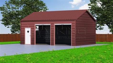How To Side A Garage by 18x26 Side Entry Garage
