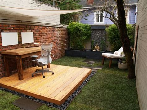 backyard office plans 6 ideas for an outdoor office flexjobs