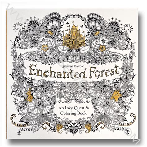 enchanted forest an inky basford s enchanted forest an inky quest and coloring book dixon s vacuum and sewing