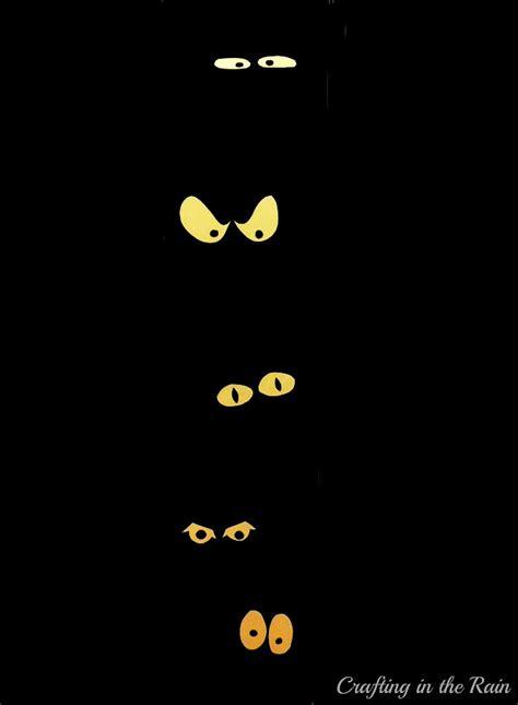 printable halloween spooky eyes 20 crafty days of halloween front door spooky eyes see