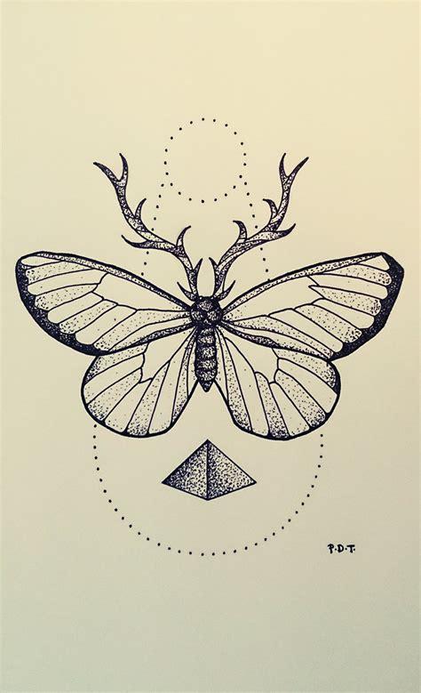 tattoo butterfly geometric andrey svetov drawings google da ara resimlerim