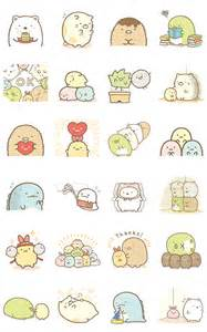 sumikko gurashi animated pop up line stickers