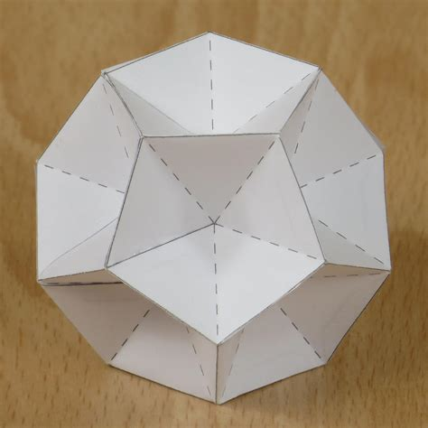 Stellated Icosahedron Origami - third stellation of the icosahedron ideas
