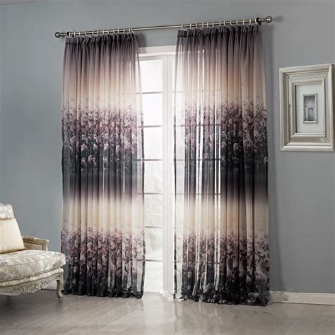 contemporary blackout curtains modern curtains floral blackout curtains iyuegou modern