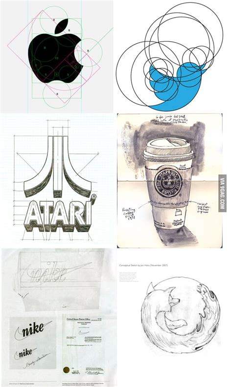 9gag Sketches by Big Brands Logo Sketches 9gag