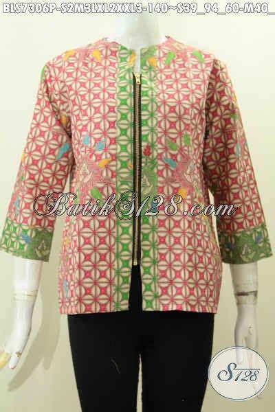 Baju Atasan Wanita 39 model baju atasan batik wanita untuk kerja tercantik