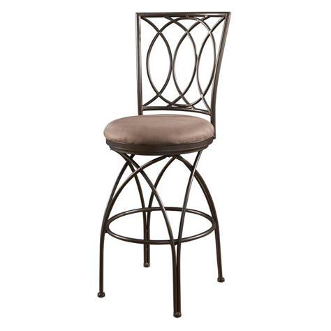 Bronze Bar Stools powell furniture big and 30 quot bar stool in bronze 435620