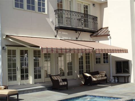 residential awnings nyc residential retractable awnings patio new york by