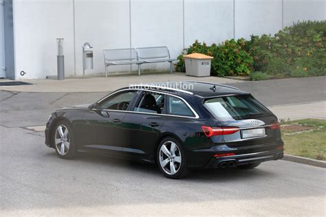 Audi Wagon 2020 by 2020 Audi S6 Avant Spied With No Camo Looks