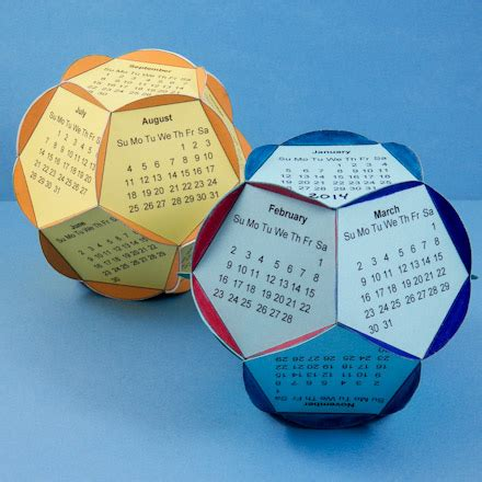 How To Make A Dodecahedron Out Of Paper - dodecahedron calendar 2016 calendar template 2016