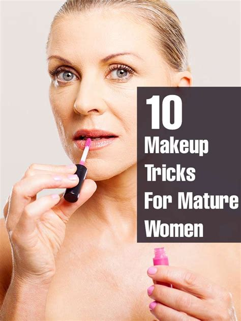 Best Looks For Over 50 | makeup tips for mature women makeup tips for women over 50