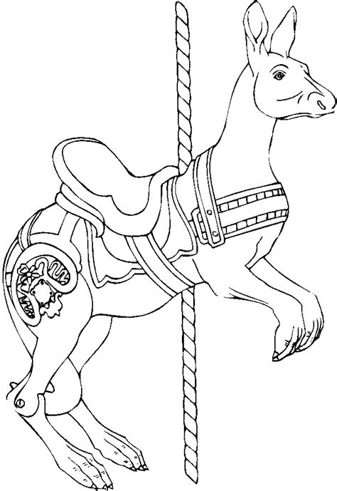 Carousel Pictures To Color Free Coloring Pages On Art Coloring Pages Carousel Template Html