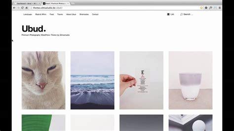 theme wordpress ubud ubud wordpress theme en on vimeo
