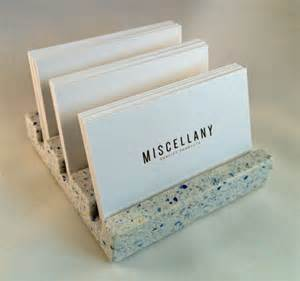 multi business card holder business card holder confetti quartz by