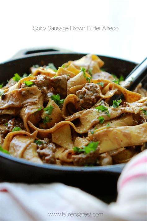 turkey sausage alfredo pasta recipe 25 best ideas about spicy sausage pasta on