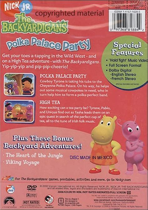 Backyardigans Polka Palace Dvd Backyardigans Polka Palace Dvd