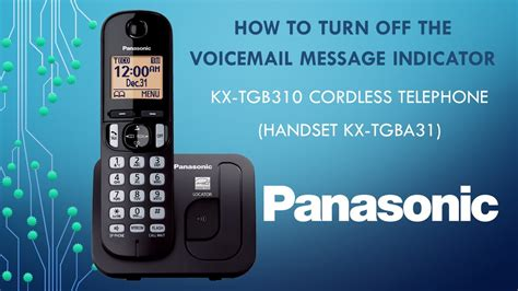 how to reset voicemail password on panasonic kx dt333 panasonic kx tgb310 telephone how to turn off the