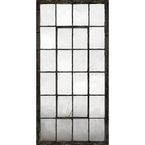 Wall Murals And Decals industrial texture charcoal warehouse windows mural