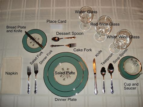 dinner setting journeys essential skills formal dining etiquette