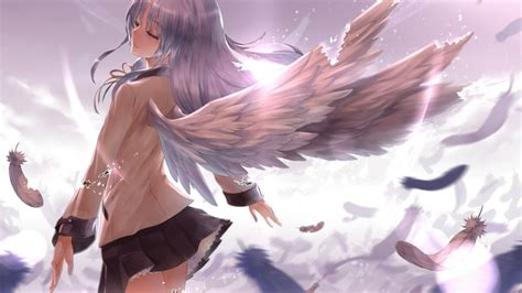 wallpaper anime angel anime angel wallpaper hd wallpaper