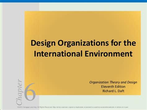 design for environment slideshare designing organisations for international environment