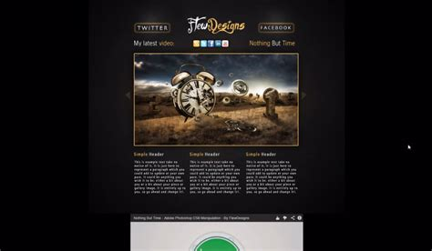 website tutorial photoshop and dreamweaver web graphic design news