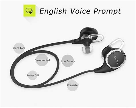 Qcy Qy8 Original Sports Earphone Bluetooth 4 1 Headphon Berkualitas original new qcy qy8 bluetooth 4 1 headphone wireless sports stereo running earphone portable